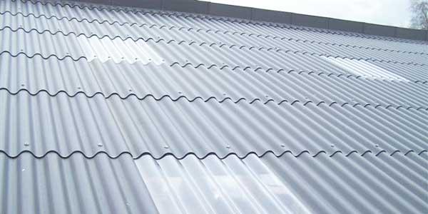 Golfplaten als dakbedekking