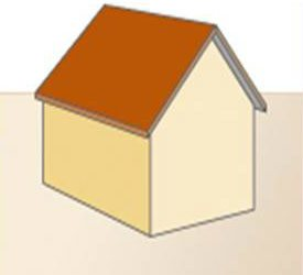 Zadeldak - voorbeeld van deze dakvorm
