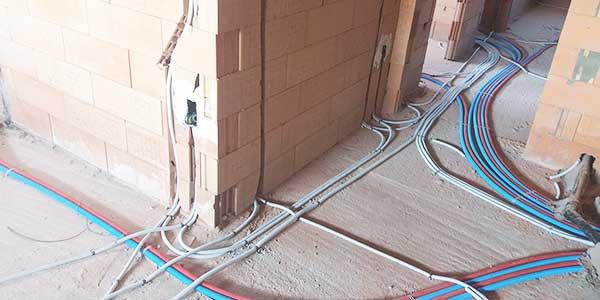 Nieuwe elektrische installatie
